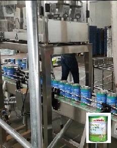 蔚莱虫卵罐装生产线视频