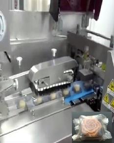蔚莱月饼包装机视频