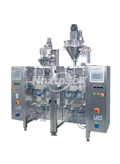 昆山L422 双胞胎立式自动包装机