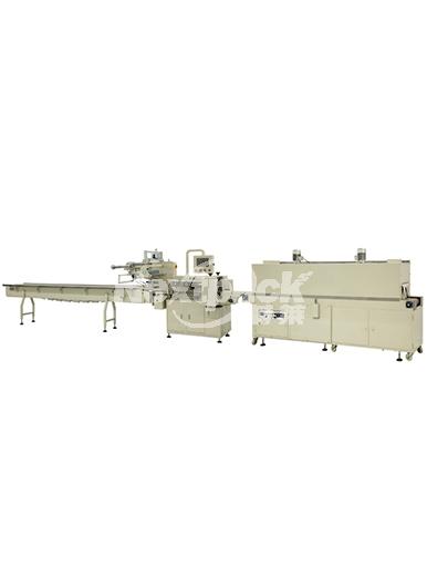 WL-R型热收缩枕式包装机+收缩炉