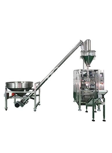 昆山粉料立式机包装生产线