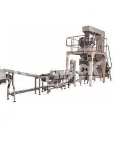 昆山多头秤立式机称重包装生产线