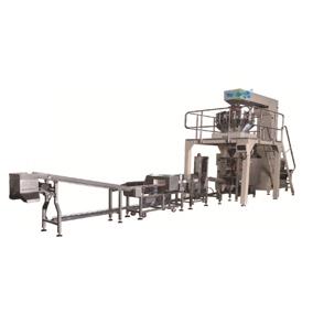 多头秤立式机称重包装生产线