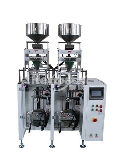 L150D twin cross seal film packaging machine