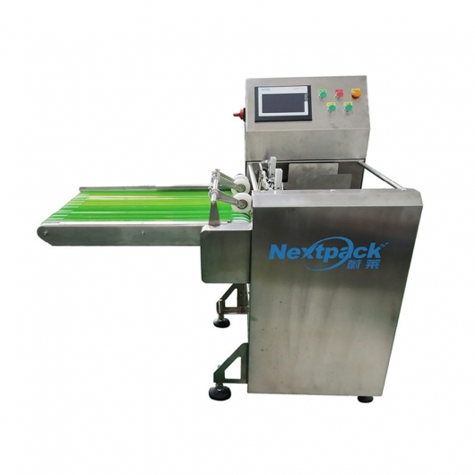 Top suction paging machine-guide conveyor