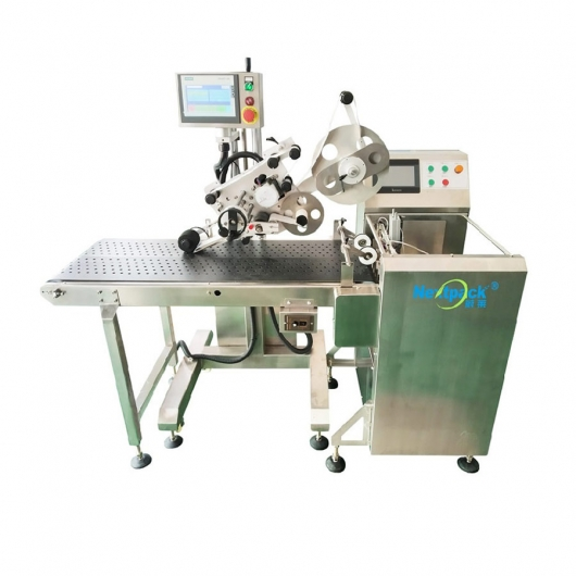 Suction type paging labeling all-in-one machine